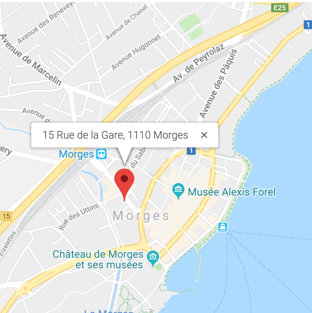 adresse du centre medical de morges CMM